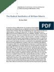 The Radical Aesthetics of William Morris