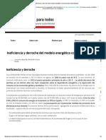 Ineficiencia y Derroche Del Modelo Energético Convencional _ Sostenibilidad