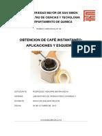 Obtencion de Cafe Instantaneo Explicacion y Esquemas (Mayra Nadya Rodriguez Vidaurre)