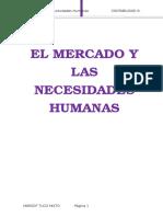 El Mercado y Las Necesidades Humanas