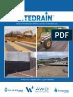 SITEDRAIN Drenajes Prefabricados Para Aplicaciones de Ingeniería Civil