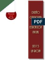 Diseño Curricular Para La Educacion Inicial de La Rioja