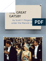 The Great Gatsby Marxist Reading