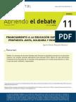 Financiamiento a la Educación Superior Chile