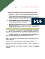 1.Instrucciones de Solicitud de Convalidaciones 2015-16