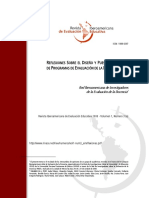 Reflexiones sobre el diseño y puesta en marcha de programas de evaluación docencia