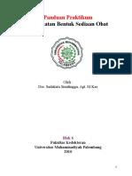 Penuntun Praktikum Bentuk Sediaan Obat Blok 6 2011