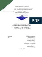 Informe Derecho Colectivo Del Trabajo (La Convención Colectiva Del Trabajo)