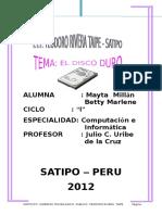 Monografia Del Disco Duro