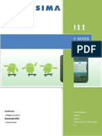 Rapport Projet Android
