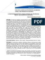A Responsabilidade Ético-Jurídica do Profissional de Medicina no Brasil