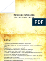 Relatos de La Creacion