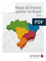 Mapa Do Ensino Superior No Brasil 2015