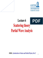 L6 Scattering PartialWaves