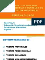 HISTORIA Y ACTUALIDAD DE LOS PRINCIPALES ENFOQUES EN ORIENTACION VOCACIONALADRIANA GULLCO
