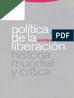 politica de la liberacion Historia mundial y critica