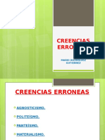 CREENCIAS ERRONEAS