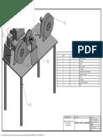 Plano Isometrico bobinadora de alambre