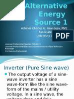 Alternative Power Source