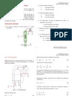 Destilación Fraccionada - Método de Mc Cabe Thiele