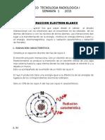 Interaccion Electron - Blanco