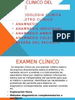 Examen Clinico Del Paciente