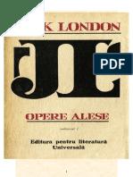 Jack London - Opere Alese Vol I(v1.0)