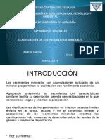 Clasificación de los Yacimientos Minerales.pptx