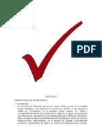 CAPITULO I Administracion Estrategica
