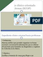Expediente clínico orientado hacia problemas (ECOP)