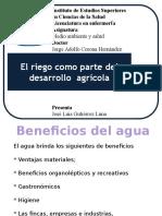 Desarrollo Agrícola y El Agua