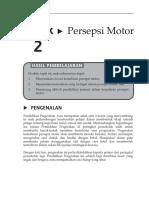 Topik 2 Persepsi Motor