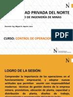 Control de Operaciones Mineras - Parte 2