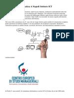 Consulenza Informatica A Napoli Settore ICT