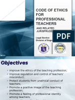 Code of Professional Teachers