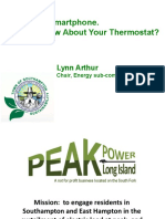 You Got A Smartphone. Now How About Your Thermostat? (by Lynn Arthur PeakPowerLI)
