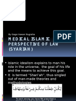 Medical Islamic Perspective of Law (Syariah)