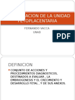 Evaluacion de la UFP