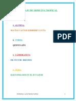 ecuador medicina tropical.docx