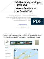 Distributed Collectively Intelligent Grids, South Fork Resilience Scenario Planning (by Michael McDonald)