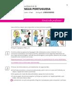 Avaliação 6ºanno - Português Linguagens