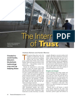 The Internet of Trust - IMF - Adriano