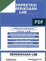 Interpretasi Pemeriskaan Lab - Interna Tebet