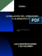 Las Construcciones y Su Volumen Nvo