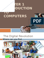 Introduction to Computers (Chapter 1)