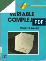 Variable Compleja - Schaum.pdf
