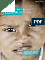 Desigualdad Social y Equidad en Salud