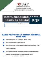 Instituciolaidad de los Rrss Peru