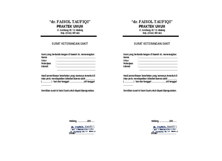 Dokumentips Surat Dokter 55b4fbf4b0b6e