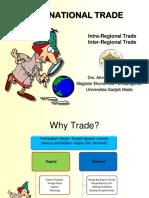 Perdagangan Intra Dan Antar Daerah